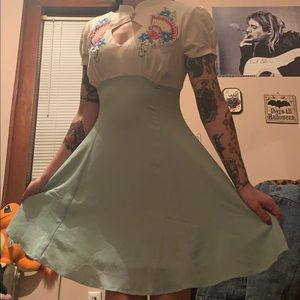 Hell Bunny Pin Up Style Dress